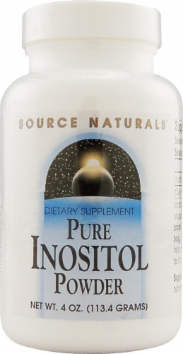 Source Naturals  Pure Inositol Powder Perspective: front