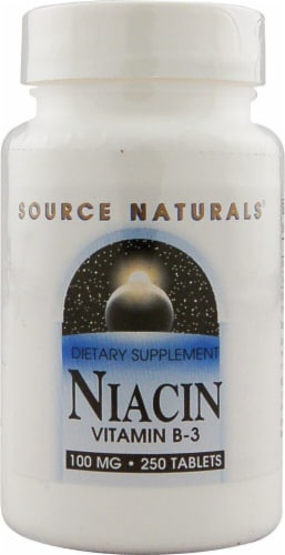 Source Naturals  Niacin Vitamin B-3 Perspective: front