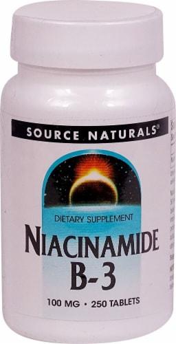 Source Naturals  Niacinamide B-3 Perspective: front