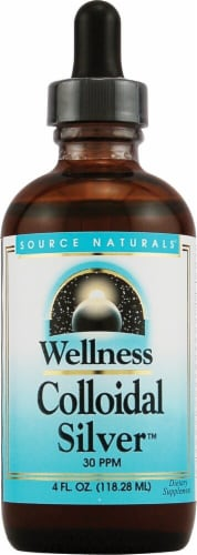 Source Naturals  Wellness Colloidal Silver™ Perspective: front