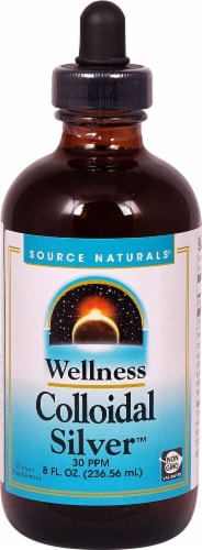 Source Naturals Wellness Colloidal Silver™ Dietary Supplement Perspective: front