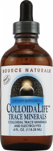 Source Naturals  ColloidaLife™ Trace Minerals   Fruit Perspective: front