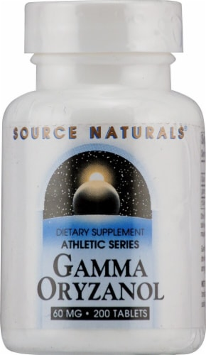 Source Naturals  Athletic Series Gamma Oryzanol Perspective: front