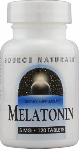 Source Naturals  Melatonin Perspective: front