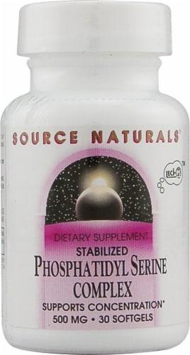 Source Naturals  Phosphatidyl Serine Complex Stabilized Perspective: front