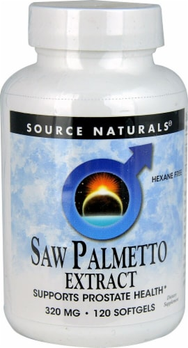 Source Naturals  Saw Palmetto Extract Perspective: front