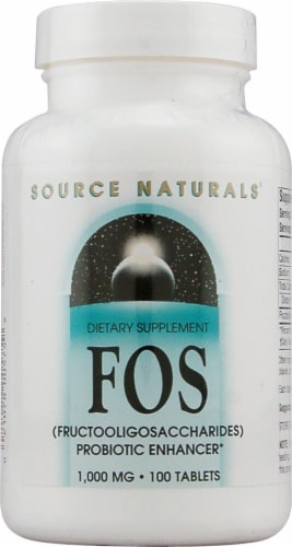 Source Naturals  FOS Perspective: front