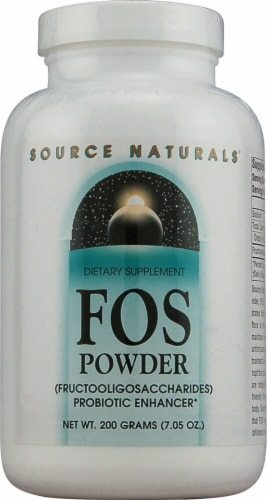 Source Naturals  FOS Powder Perspective: front