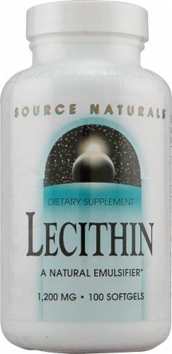 Source Naturals  Lecithin Perspective: front