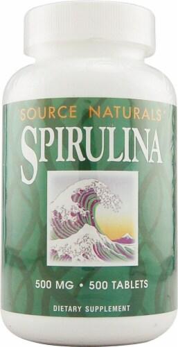 Source Naturals  Spirulina Perspective: front