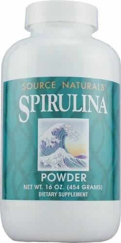 Source Naturals  Spirulina Powder Perspective: front