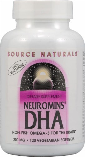 Source Naturals Neuromins DHA Softgels 200 mg Perspective: front