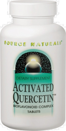 Source Naturals Activated Quercetin Dietary Supplement Perspective: front