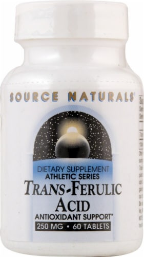 Source Naturals  Trans-Ferulic Acid Perspective: front