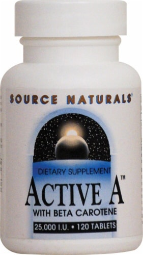 Source Naturals  Active A™ with Beta Carotene Perspective: front