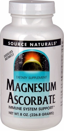Source Naturals  Magnesium Ascorbate Perspective: front