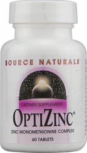 Source Naturals  OptiZinc® Perspective: front
