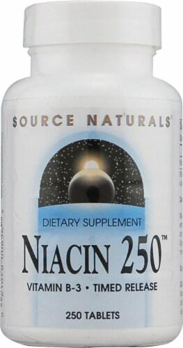 Source Naturals  Niacin 250™ Vitamin B-3 Perspective: front