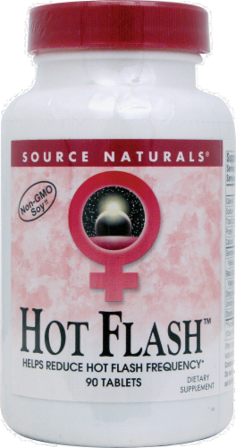 Source Naturals Hot Flash Tablets Perspective: front