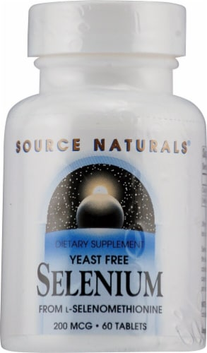 Source Naturals  Selenium Yeast Free Perspective: front