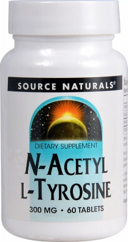 Source Naturals  N-Acetyl L-Tyrosine Perspective: front