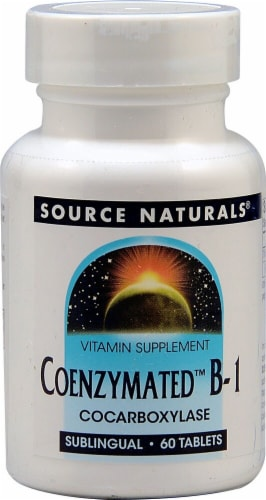 Source Naturals Coenzymated B-1 Tablets Perspective: front