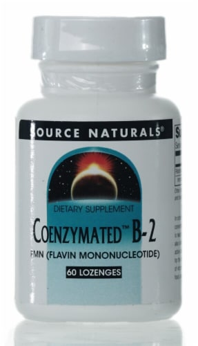 Source Naturals Coenzymated B-2 Lozenges Perspective: front