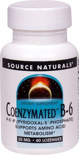 Source Naturals  Coenzymated™ B-6 Perspective: front