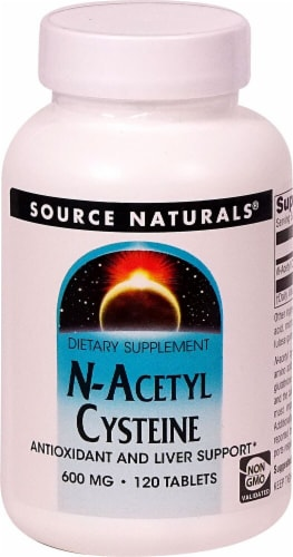 Source Naturals  N-Acetyl Cysteine Perspective: front