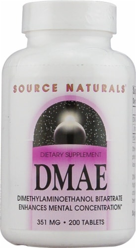Source Naturals  DMAE Perspective: front