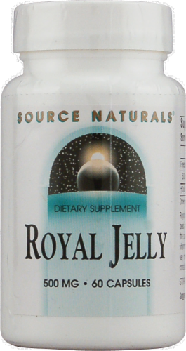 Source Naturals Royal Jelly 500 mg Dietary Supplement Perspective: front