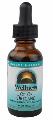 Source Naturals  Wellness Oil of Oregano Perspective: front