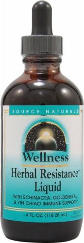Source Naturals  Wellness Herbal Resistance™ Liquid Perspective: front