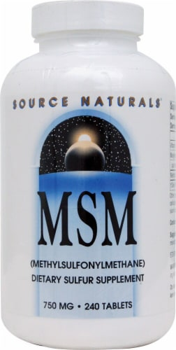 Source Naturals  MSM with Vitamin C Perspective: front
