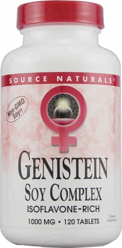 Source Naturals  Genistein Soy Complex for Women Perspective: front