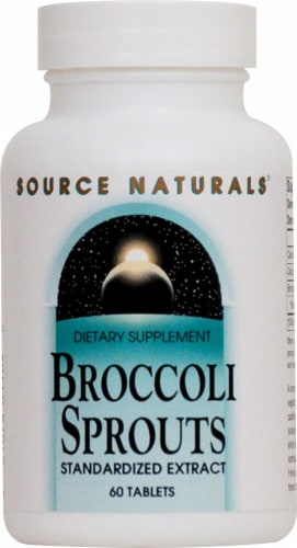 Source Naturals  Broccoli Sprouts Perspective: front