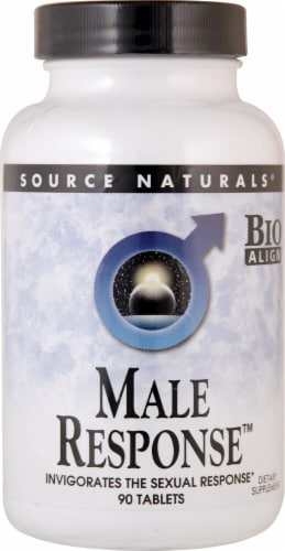 Source Naturals  Male Response™ Perspective: front