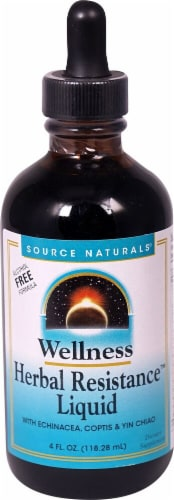 Source Naturals Wellness Herbal Resistance™ Liquid Alcohol Free Dietary Supplement Perspective: front