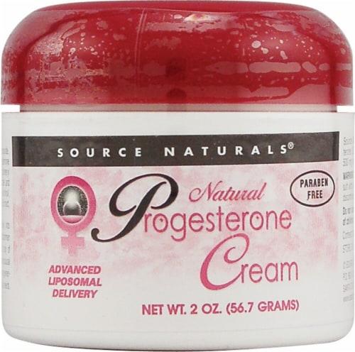 Source Naturals Eternal Woman Progesterone Cream Perspective: front