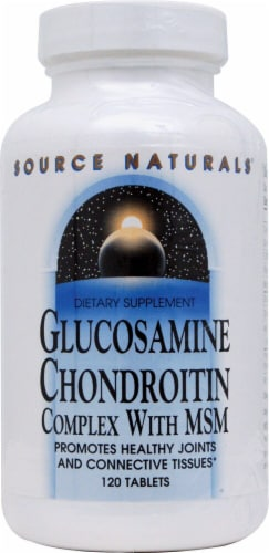 Source Naturals  Glucosamine Chondroitin Complex with MSM Perspective: front