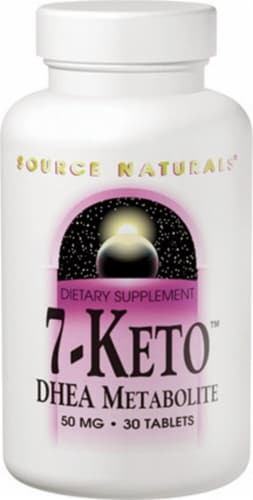 Source Naturals  7-Keto™ DHEA Metabolite Perspective: front
