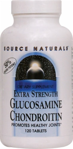 Source Naturals  Extra Strength Glucosamine Chondroitin Perspective: front