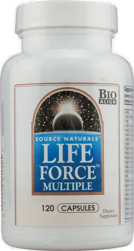 Source Naturals Life Force Capsules Perspective: front
