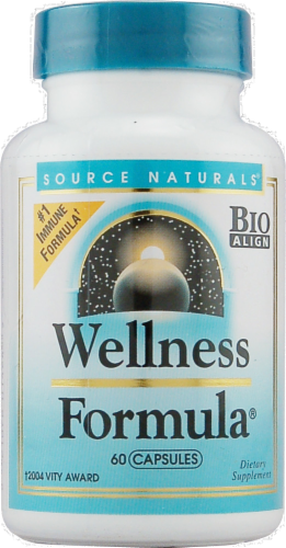 Source Naturals Wellness Formula Capsules Perspective: front