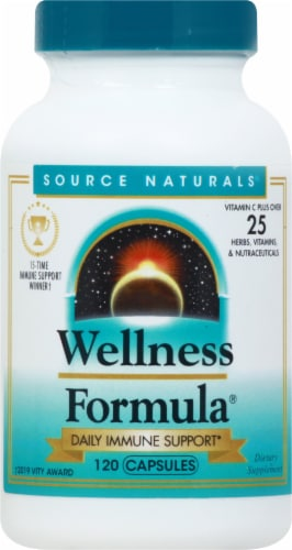 Source Naturals Wellness Formula Herbal Defense Complex Capsules Perspective: front