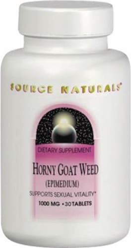 Source Naturals  Horny Goat Weed Perspective: front