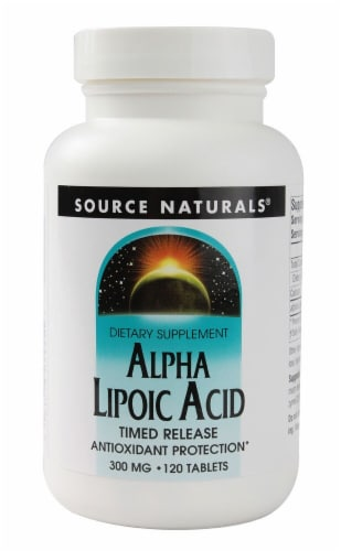 Source Naturals  Alpha Lipoic Acid Time Release Perspective: front
