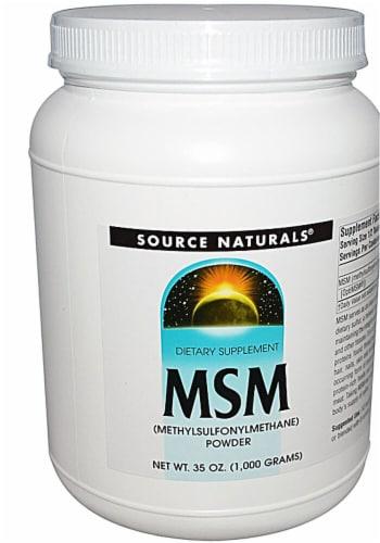Source Naturals  MSM Powder Perspective: front