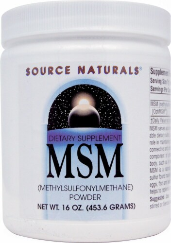 Source Naturals  MSM Powder Perspective: front