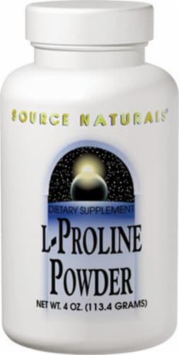 Source Naturals  L-Proline Powder Perspective: front